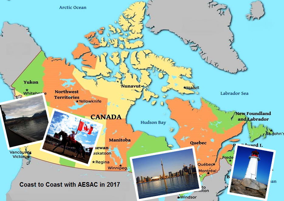 Coast to Coast with AESAC in 2017 - By the Numbers