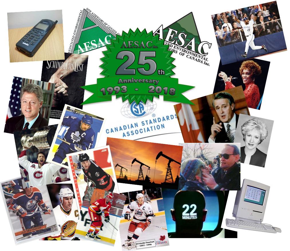 Looking Back: 25 years of AESAC